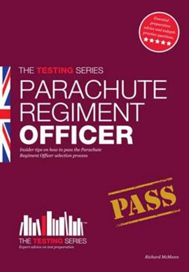 Parachute regiment officer by Richard McMunn