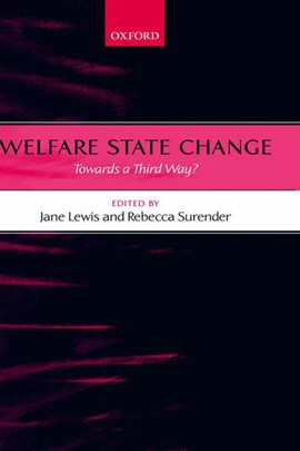 Welfare state change by Jane Lewis
