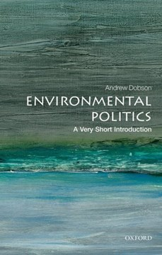 Environmental politics by Andrew Dobson