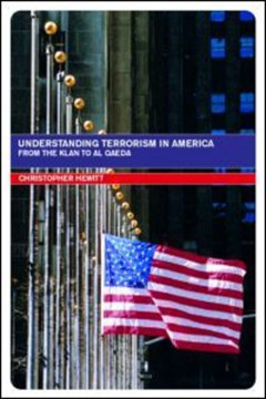 Understanding terrorism in America by Christopher Hewitt