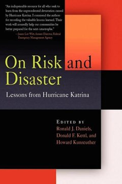 On risk and disaster by Ronald J. Daniels