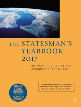 The Statesman's Yearbook 2017 by Palgrave Macmillan