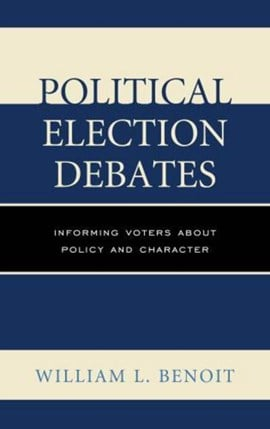 Political election debates by William  L. Benoit