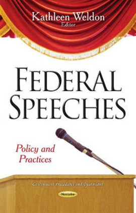 Federal Speeches by Kathleen Weldon