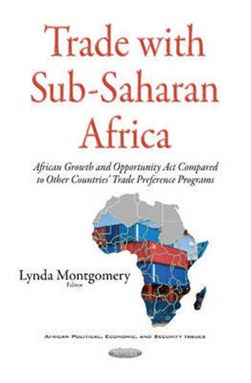 Trade with sub-Saharan Africa by Lynda Montgomery