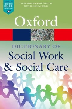 A dictionary of social work and social care by John Harris