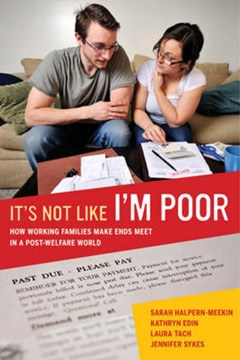 It's not like I'm poor by Sarah Halpern-Meekin