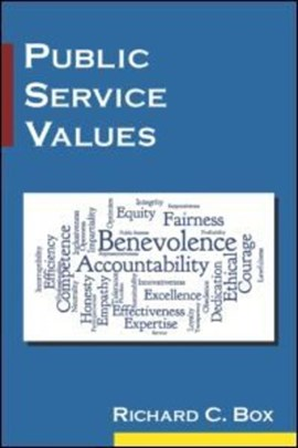Public service values by Richard C. Box