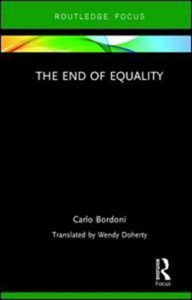 The end of equality by Carlo Bordoni