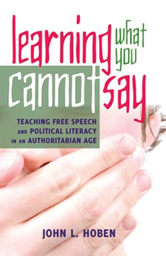 Learning what you cannot say by John L. Hoben
