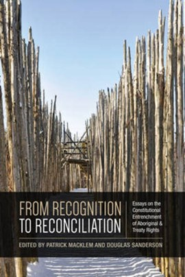 From Recognition to Reconciliation by Patrick Macklem