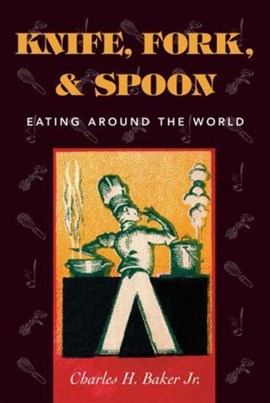 Knife, fork, & spoon by Charles H. Baker