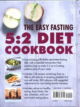 The easy fasting 5:2 diet cookbook by Penny Doyle