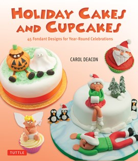 Holiday cakes and cupcakes by Carol Deacon