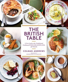 The British table by Colman Andrews