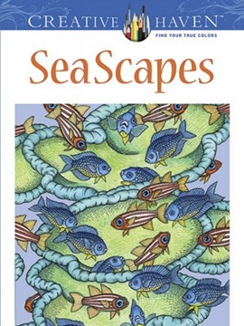 Creative Haven SeaScapes Coloring Book by Patricia J. Wynne