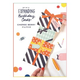 Cheree Berry Expanding Birthday Card Set by Cheree Berry