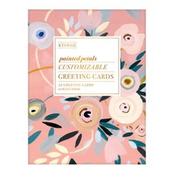 Painted Petals DIY Greeting Card Folio by Galison