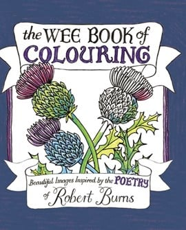 The Wee Book of Colouring by Melissa Four