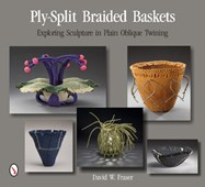 Ply-split braided baskets
