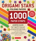 Origami Star Papers 1000 Paper Strips in Assorted colours