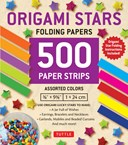 Origami Star Papers 500 Paper Strips in Assorted colours