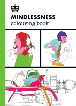 Modern Toss: Mindlessness Colouring Book by Jon Link