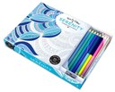 Vive Le Color! Serenity (Coloring Book and Pencils)