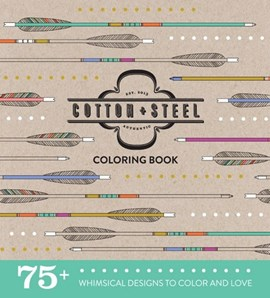 Cotton + Steel Coloring Book by