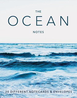 The Ocean Notes: 20 Different Notecards & Envelopes by Chronicle Books