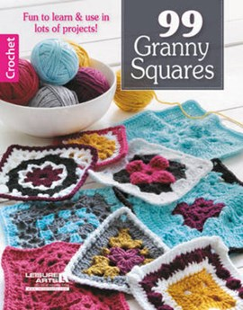 99 granny squares by Leisure Arts