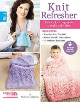 Knit refresher by Melissa Leapman