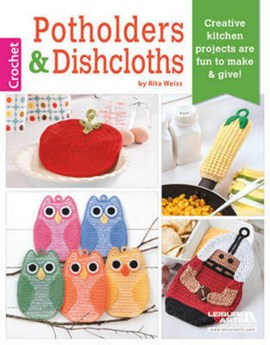 Potholders & dishcloths by Rita Weiss