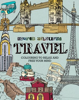INSPIRED COLOURING  TRAVEL (FS) by Dominic Utton