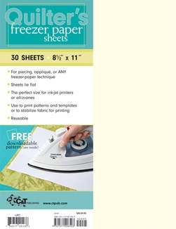 Quilter's Freezer Paper Sheets by C&T Publishing