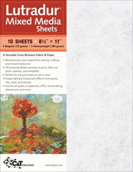 Lutradur¬ Mixed Media Sheets by C&T Publishing