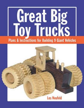 Great big toy trucks by Les Neufeld