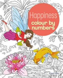 Happiness Colour by Numbers by Arpad Olbey
