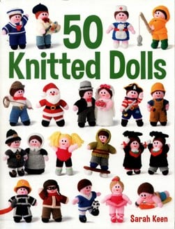 50 knitted dolls by Sarah Keen