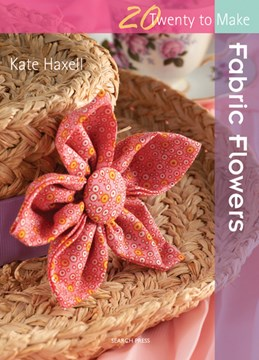 Fabric flowers by Kate Haxell