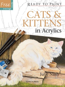 Cats & kittens in acrylics by Julie Nash