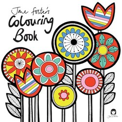 Jane Foster's Colouring Book by Jane Foster