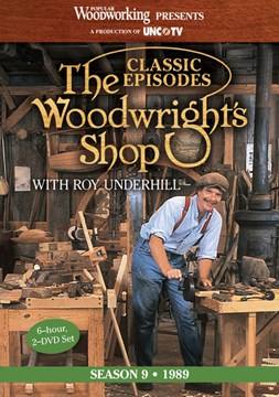 Classic Episodes, The Woodwright's Shop (Season 9) by Popular Woodworking Books