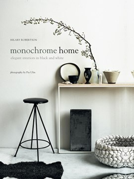 Monochrome home by Hilary Robertson