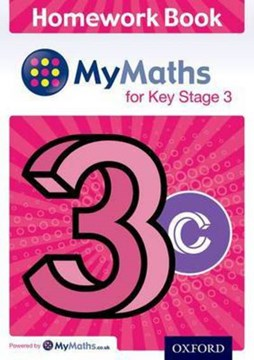 Mymaths: For Key Stage 3: Homework Book 3c by