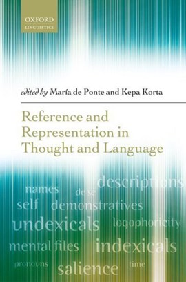 Reference and representation in thought and language by María de Ponte