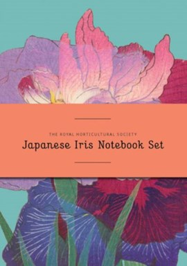 RHS Japanese Iris Notebook Set by Royal Horticultural Society