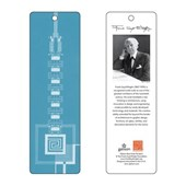 Frank Lloyd Wright Taliesin West Gate Bookmark (Blue)