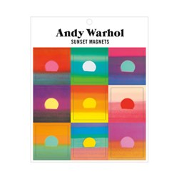 Andy Warhol Sunset Magnets by Galison