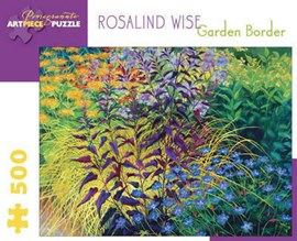 Rosalind Wise Garden Border 500-Piece Jigsaw Puzzle  Aa739 by